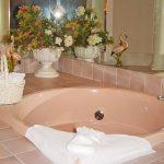 Пример ванной комнаты к статье «Дизайн ванной: как организовать пространство здоровья»